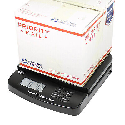 Horizon 66 LB x 0.1oz Digital Postal Shipping Scale SF-550 V4 Desktop Scale