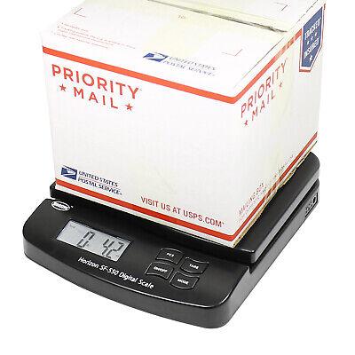 Horizon 66lb X 0.1oz Digital Postal Shipping Scale Sf-550 V4 Desktop Scale Black