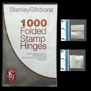 SAVE-1-FREE-DELIVERY-ON-STANLEY-GIBBONS-HINGES-1-PKT-OF-1000-NEW
