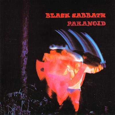 BLACK SABBATH - Paranoid Art Print Poster 12 x 12