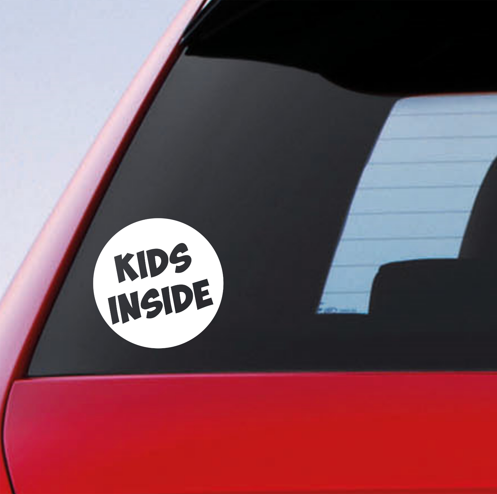 Kids Inside Car Sticker Funny Novelty On Board Child Baby Safety Warning Sign
