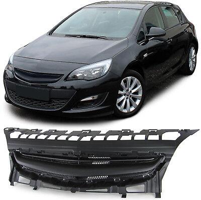 Sport Grill Kühlergrill ohne Emblem schwarz für Opel Astra J 5 Türer 12-15