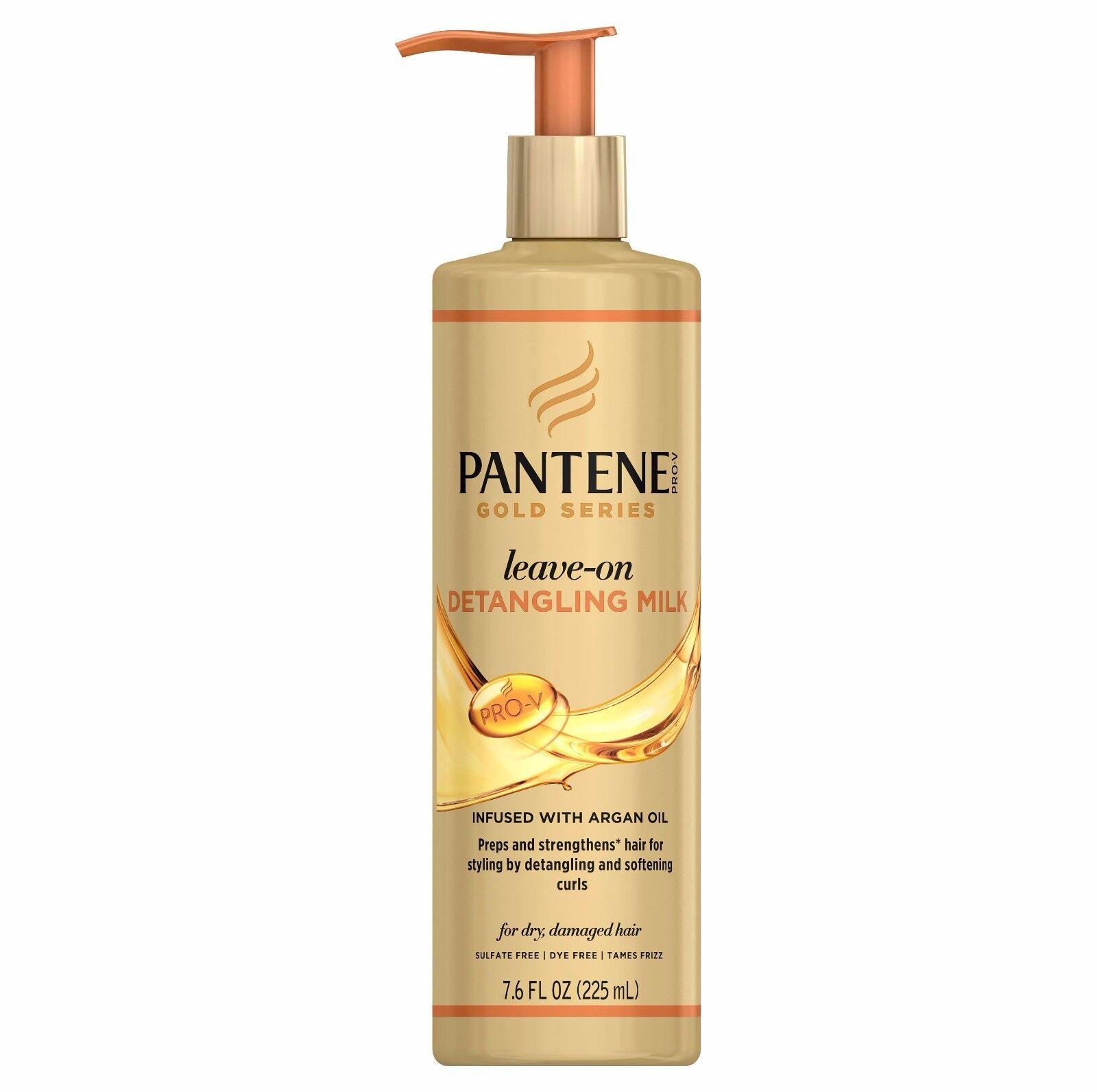 Pantene Gold Series Leave-on Detangling Milk Argan Styling S