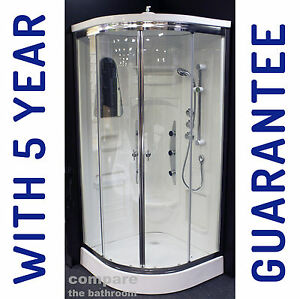 shower enclosure cubicle cabin cubicle with body jets non steam no electrics