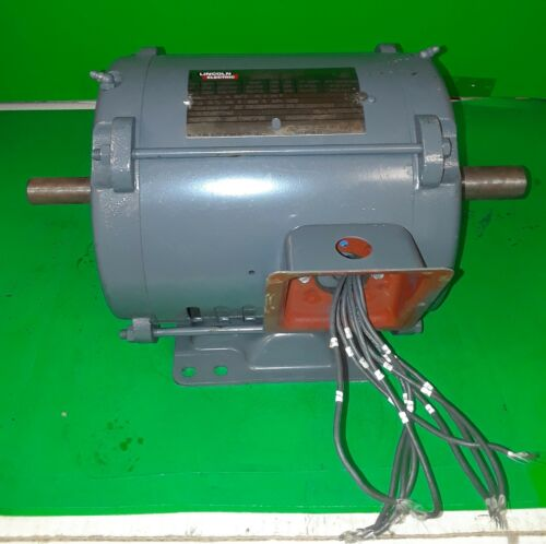 Lincoln Electric Ultimate E1 Industrial Motor Mod # SD4P5TTM61 - 5 HP, 230/460V