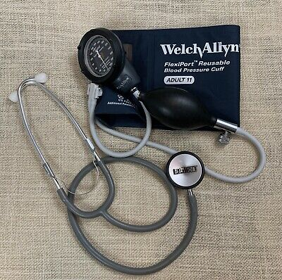 Welch Allyn Ds48 Sphygmomanometer Durashock Adult Blood Pressure Stethoscope