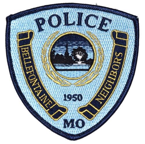 BELLEFONTAINE NEIGHBORS MISSOURI MO Police Sheriff Patch CHURCH STEEPLE ~