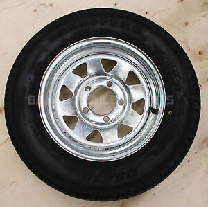 GALVANISED-13-HOLDEN-HT-WITH-155-LT-TYRE-Trailer-Parts