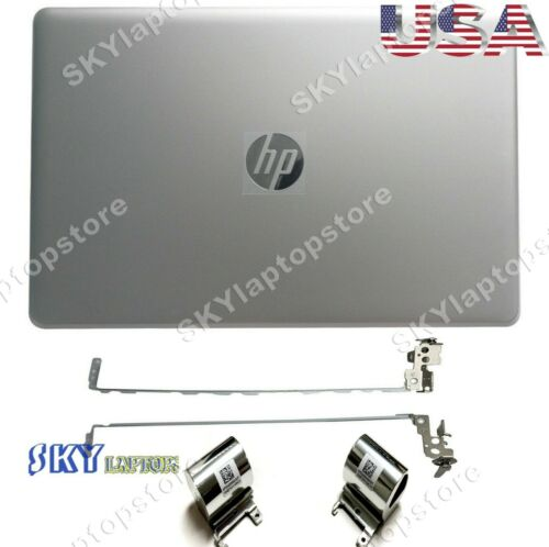 New HP 15-BS 15T-BR 15T-BS 15-BW Lcd Back Cover 924892-001+Hinges+Hinge Cover
