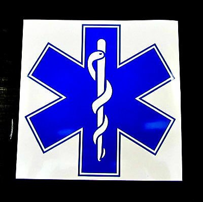 Star of Life Self Adhesive Sticker
