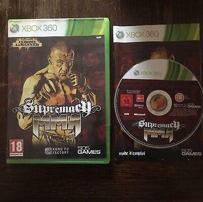 Jeux Vidéo Supremacy MMA Xbox 360 Version Français