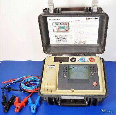 Megger S1-552 5kv Insulation Tester Megohmmeter - Nist Calibrated With Warranty