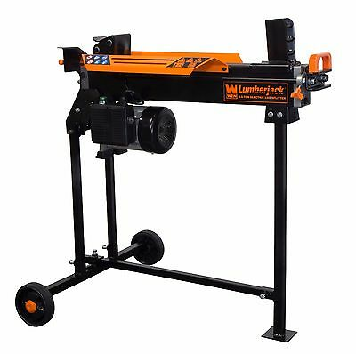 WEN 56207 6.5-Ton Electric Log Splitter with (Electric Log Splitter Stand)