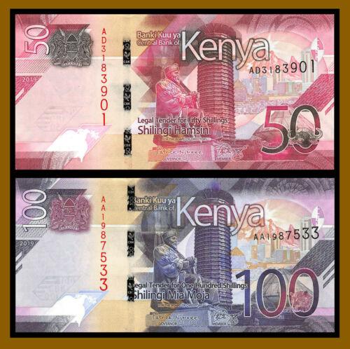 Kenya 100 shillings P-New AA-Prefix 2019 UNC /> New Design