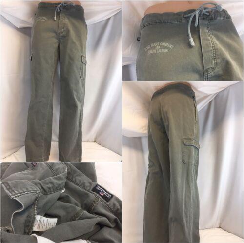 Polo Jeans Ralph Lauren Pants 32x32 M Army Green J