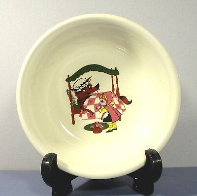 - T.S.T. Red Riding Hood bowl Taylor Smith & Taylor 6