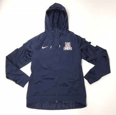 Arizona Wildcats Hoodie (New Nike Men's L Arizona Wildcats Elite Stripe Basketball Full Zip Jacket)