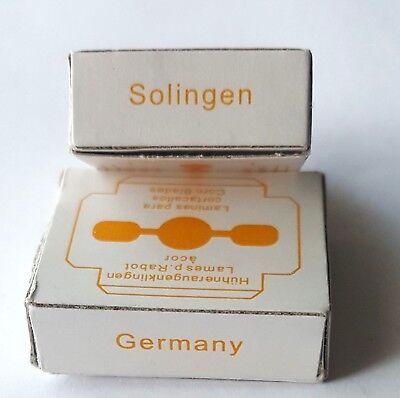 Ersatzklingen aus SOLINGEN für Hornhauthobel Neuware 10,20,30,40,50 oder 100