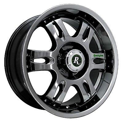 Remington Off-Road Wheels TROPHY 20x9 Rims 5x139.7 +15mm Dark Chrome *SALE*