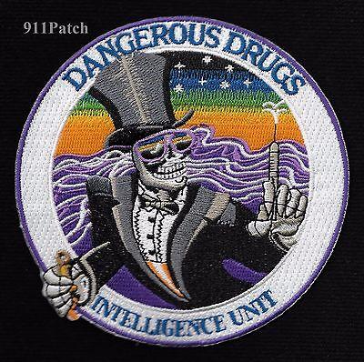 DANGEROUS DRUGS ENFORCEMENT ADMINISTRATION DEA INTELLIGENCE UNIT POLICE PATCH