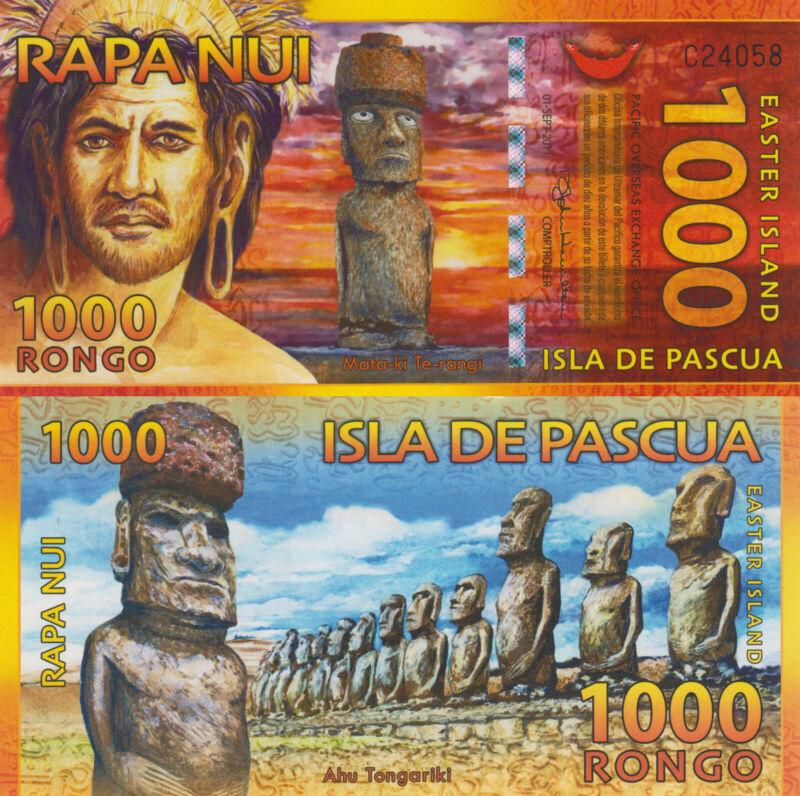 Easter Island 1000 Rongo (2010) UNC