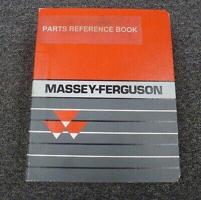 Massey Ferguson Mf 670 690 698 699 1080 1085 1045 Tractor Parts Catalog Manual