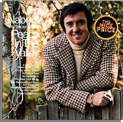 Jim Nabors   The Jordanaires   Peace In The Valley   New Lp Record  Pc 32909