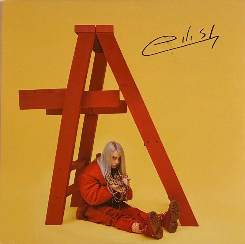 Billie Eilish Signed Autographed Dont Smile At Me Vinyl Record LP RARE JSA COA