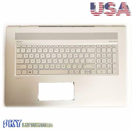 Original  HP Envy 17-AE Palmrest  Upper Case Cover US Backlit Keyboard 925477