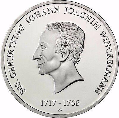 Deutschland 20 Euro Silber Johann Joachim Winckelmann 2017 Stempelglanz Münze