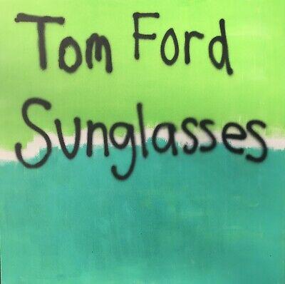 "Contemporary Art: Tom Ford Sunglasses, Original Painting: 48x48"" / 2019, J. Kwak"