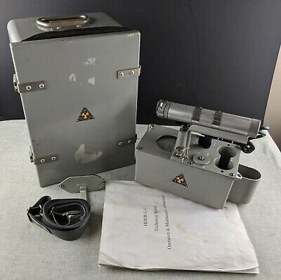 Hder G-01 Geiger Counter With Accessories And Manual