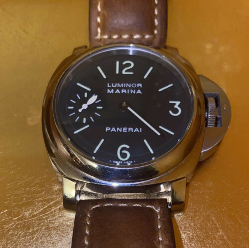 Luminor Panerai Marina Men's Pre-owned Watch - watch picture 1