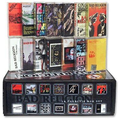 BAD RELIGION 14 used cassette tape custom box set (u.s. epitaph records punk