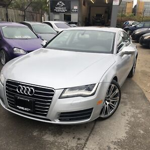 2012 Audi A7 Prestige 3.0T One Owner|Backup Cam|Push to Start