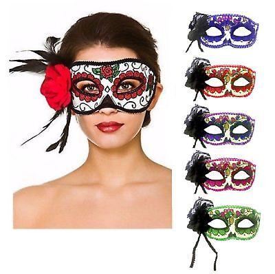 Augenmasken Gesicht Maske Fasching Karneval Halloween Kostüm Venezianisch ABAV