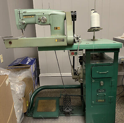 Consew Model 347r-1a Off Arm Sewing Zig Zag Industrial Sewing Machine