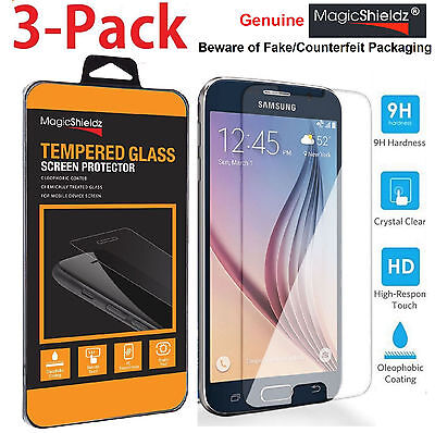 MagicShieldz� Genuine Tempered Glass Screen Protector for Samsung Galaxy S6