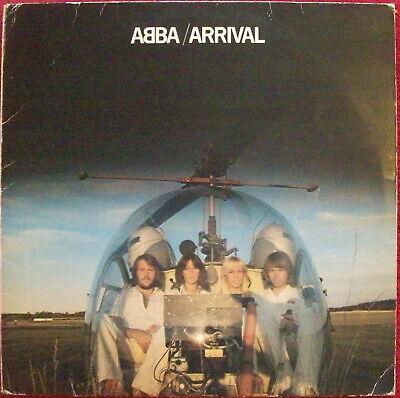ABBA / ARRIVAL / 1976 LP / UK PRESSING VINYL ALBUM  (Orange Labels)