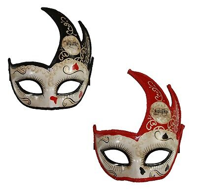 Goth Venetian Masquerade Mask Costume Musical Theatre Disguise Prop Halloween](Musical Theater Halloween Costumes)