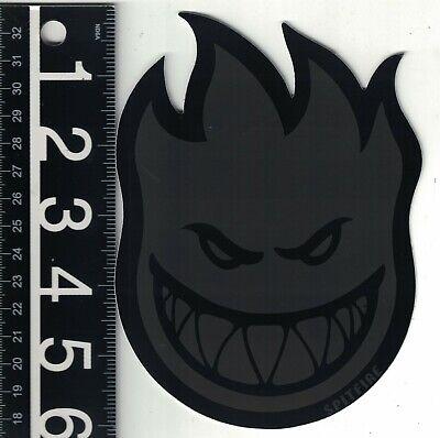 11.5 inches BLUE Huge Spitfire Skateboard Big Head Sticker