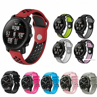 Silicone Bracelet Strap Replacement Watch Band For Samsung Galaxy Watch 46mm Jewelry & Watches