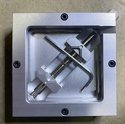 90mm Silver Bga Reballing Station Stencils Template Holder Fixture Jig 90x90