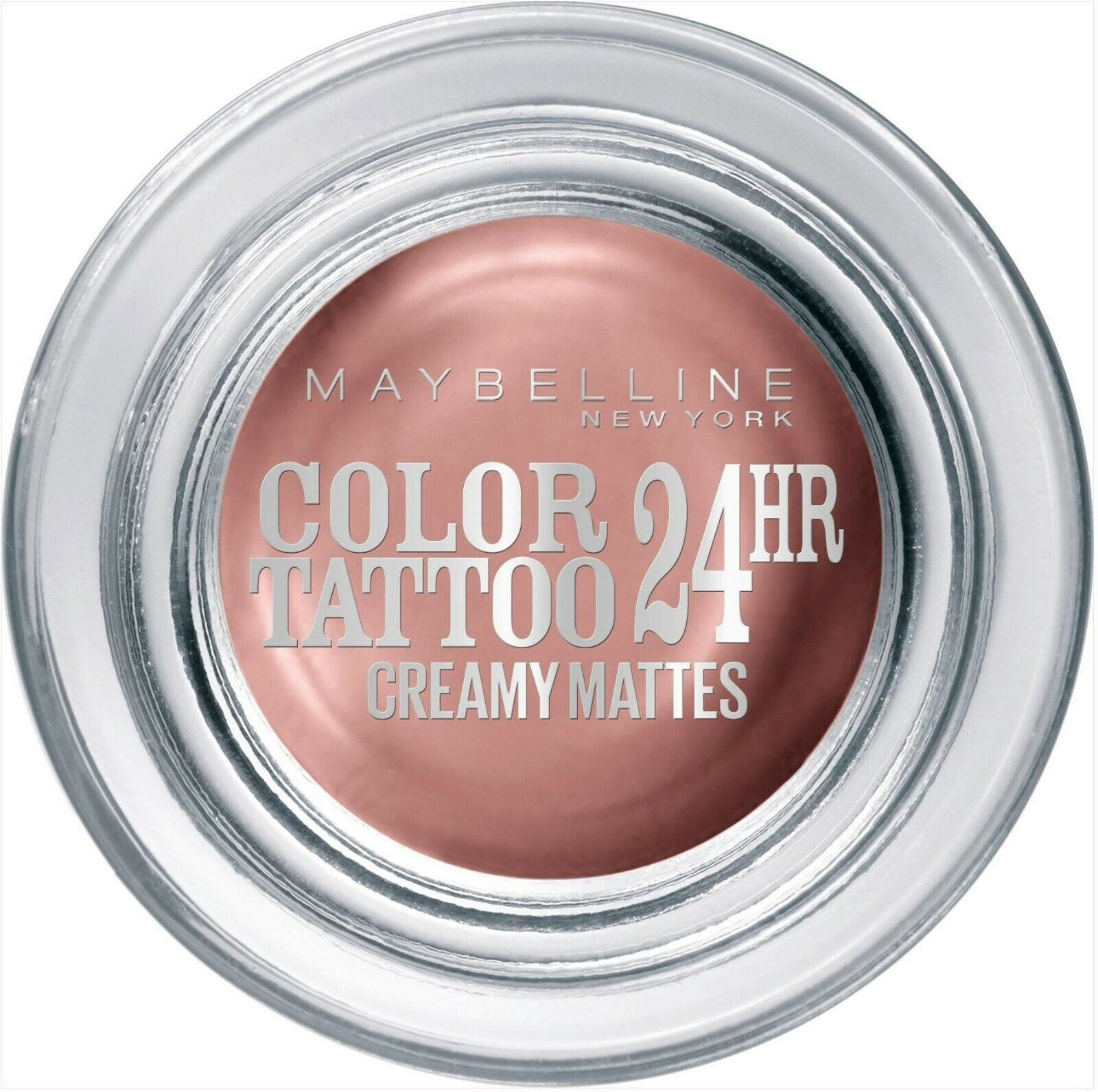 Maybelline Color Tattoo Gel Cream Lidschatten Eyeshadow Matt 91 Creme De Rose 4g