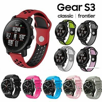 Replacement Silicone Band Strap Bracelet For Samsung Gear S3 Frontier Watch Jewelry & Watches