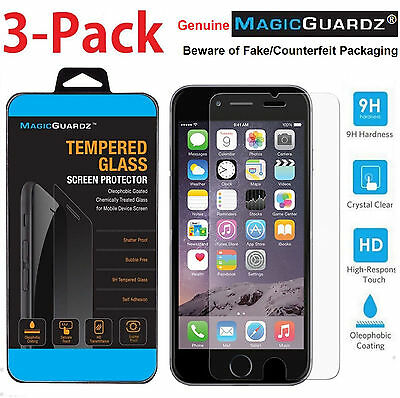 MagicGuardz® Premium Tempered Glass Screen Protector for Apple iPhone 7 Plus