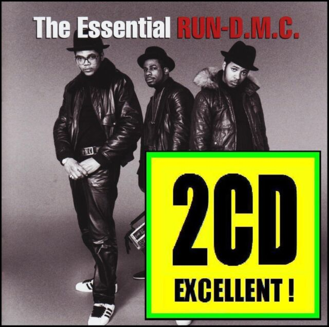 RUN DMC (2 CD) THE ESSENTIAL ~ BEST OF RUN_D.M.C. / GREATEST HITS ~ RAP *NEW*