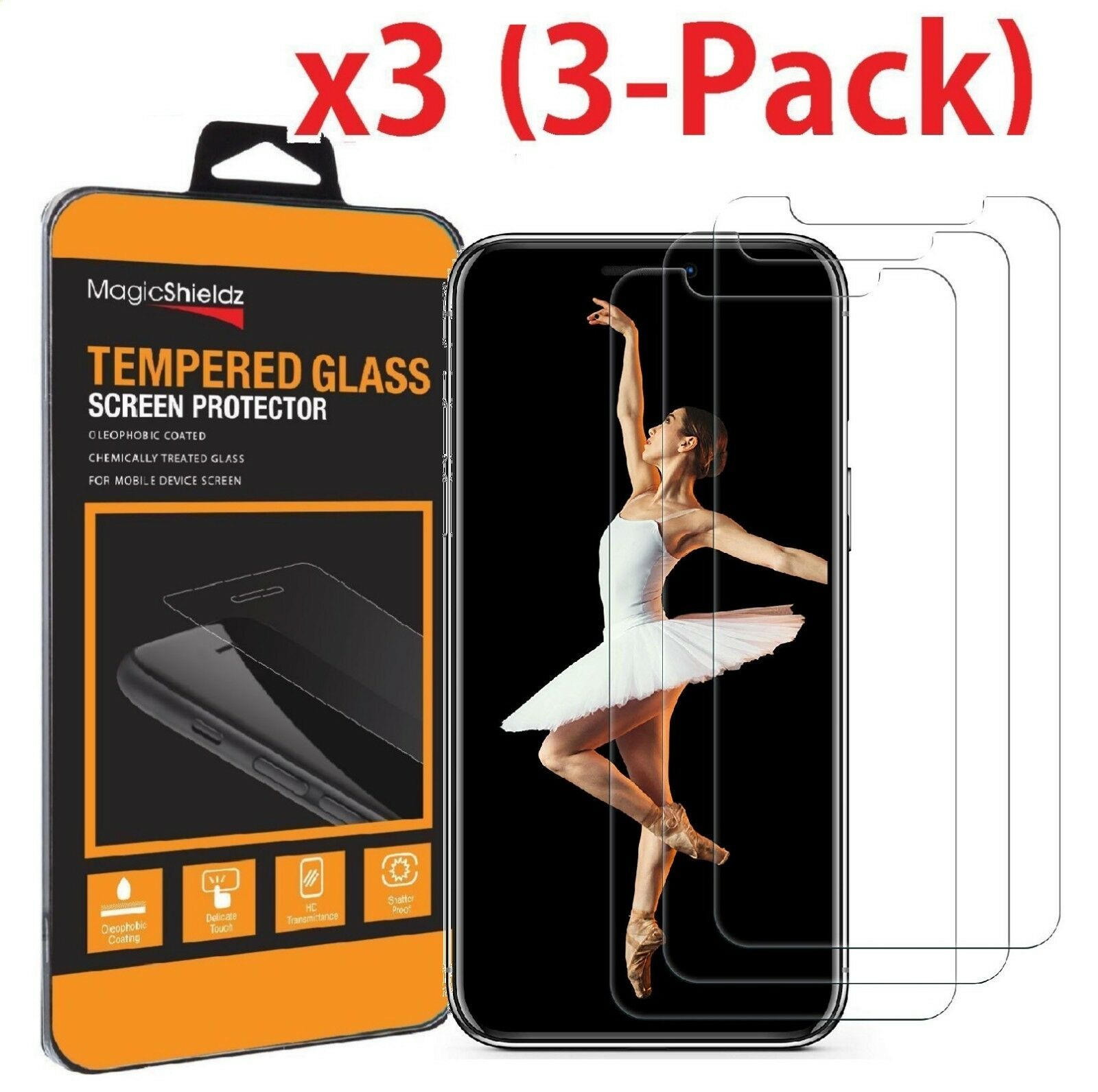 (3-Pack) Premium Tempered GLASS Screen Protector For iPhone X / XS / XR / XS Max -   10 - (3-Pack) Premium Tempered GLASS Screen Protector For iPhone X / XS / XR / XS Max electronics -  24 10 - Home Page