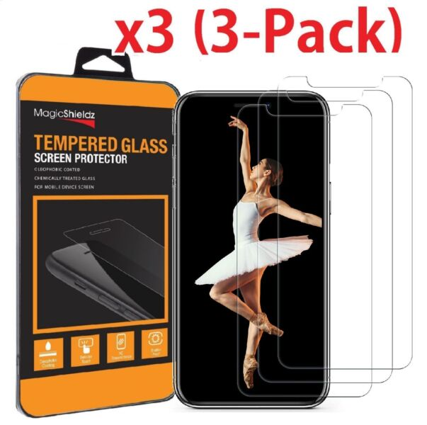 (3-Pack) Premium Tempered GLASS Screen Protector For iPhone X / XS / XR / XS Max -   20 - (3-Pack) Premium Tempered GLASS Screen Protector For iPhone X / XS / XR / XS Max