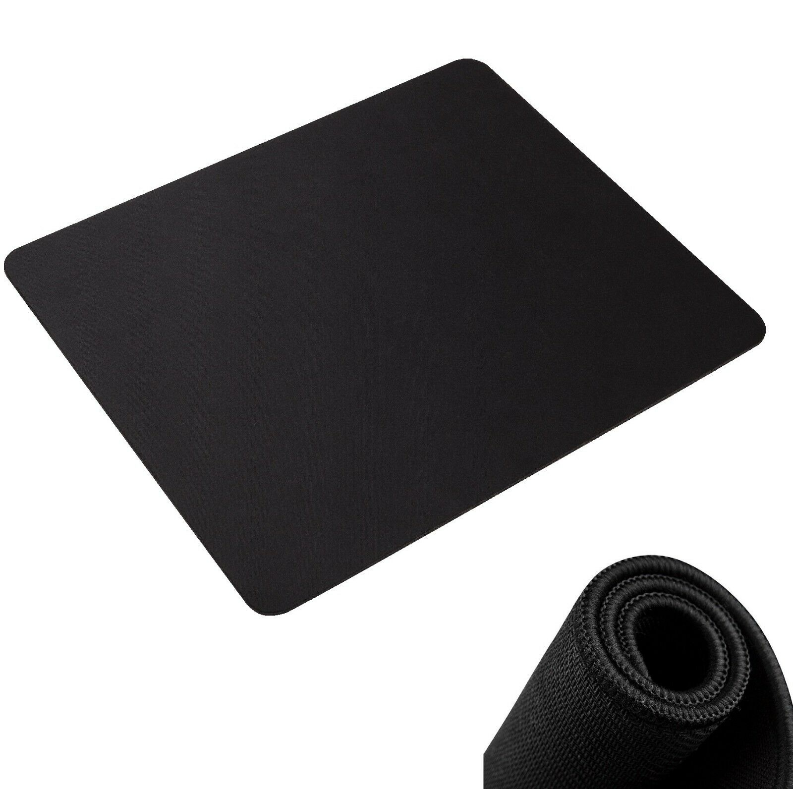 Non-Slip Mouse Pad Stitched Edge PC Laptop For Computer PC G